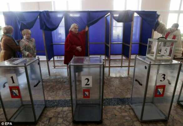 Crimea Ballot Box