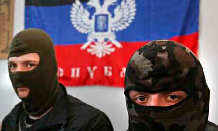 Ukraine pro Russian seperatists
