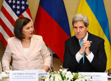 Victoria Nuland and John Kerry