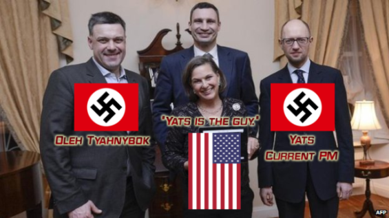 Nuland and Ukrainian fascism.